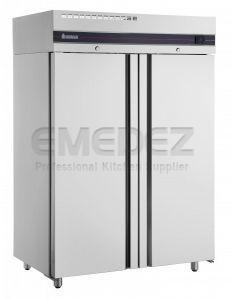Frigider profesional vertical 2 usi ,  0/10 ºC, 1227 litri, Slime Line,  144x76.8x209.5 cm
