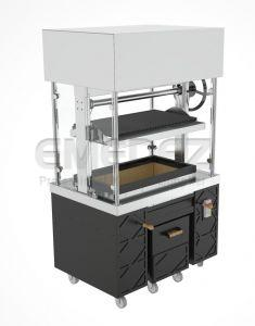 Gratar Carbuni Show Cooking Central Cu lift - 120 cm