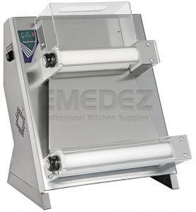 Formator blat pizza 40cm cu 2 role DUALE 420 RP T.GO