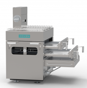 Cuptor Carbuni X-Oven X1 cu kit sertare slim