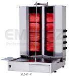 Aparat Kebap Electric 4+4 Nivele si motor jos - Model V - Kalitegaz