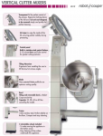 Cutter vertical Robot Coupe
