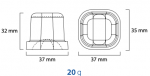Masini cuburi de gheata model cub