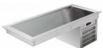 Vitrina servire cu blat refrigerat model drop-in 3 gn 1/1,111.5x61x55.8cm R600a