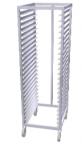 Carucior inox depozitare si transport 24 tavi 60x40cm