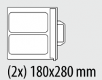 Stanta nr.2 pentru caserola 180x280mm compatibil TS3A-FIMAR