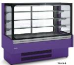 Vitrina refrigerata pentru prajituri cu geam drept 165x73x137.9cm