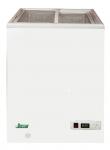 Lada depozitare congelată 97lt, alb, 2 uși glisante de sticla, 54.5x55.5x81cm