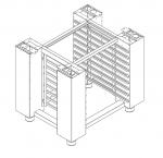 Suport Cuptor seria TAP capacitate 18 tavi 89x67x78cm